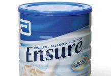 Sữa Ensure cho người gìa