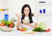 Thực đơn giảm cân sau sinh