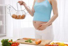 dinh dưỡng mang thai tuần 18